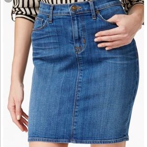 d2212bbf0 Hudson Jeans Skirts | Hudson Remi High Rise Denim Pencil Skirt Sz 27 ...